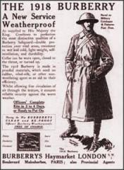 burberry 1918