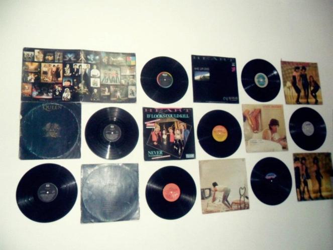 Resultado de imagem para decoração discos de vinil