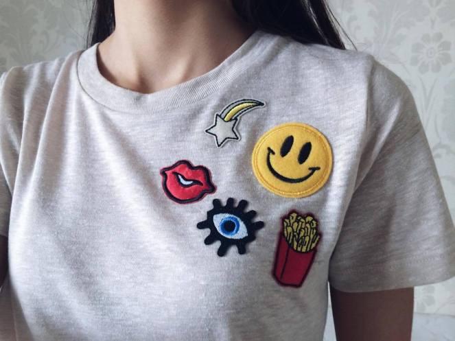 Resultado de imagem para camiseta com patches