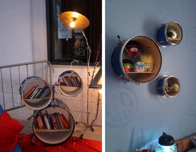 Resultado de imagem para decoração instrumentos