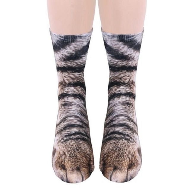 Realistic Animal Socks Will Make You Look Like You Have Animal P
