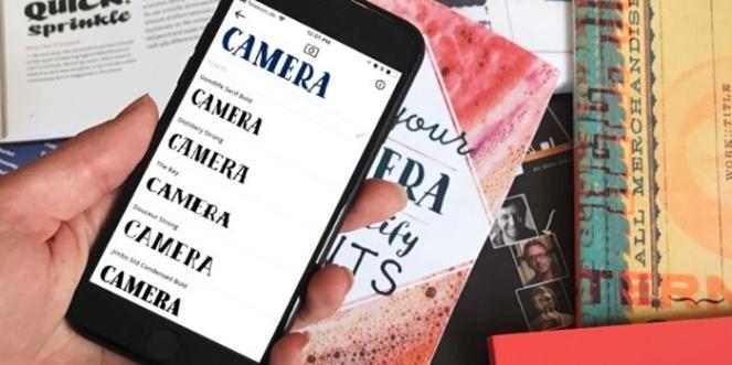 whatthefont app aplicativo my fonts como saber qual fonte 2017 blog loucuras de julia 02