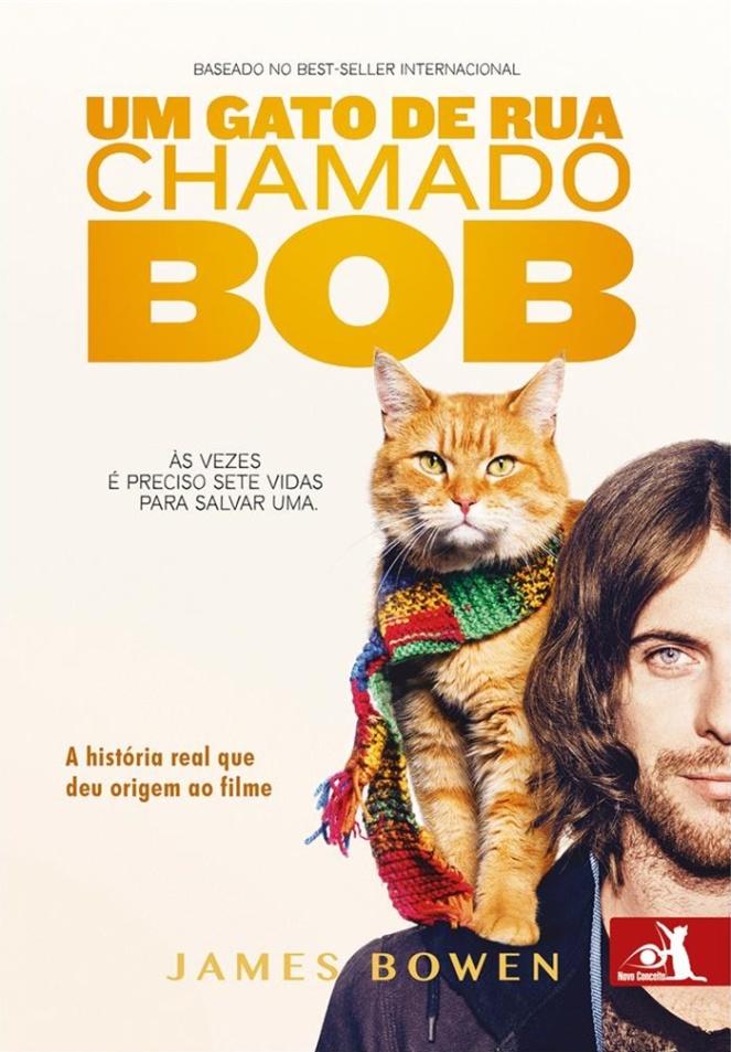 um gato de rua chamado bob livro filme brenda manea 2017 blog loucuras de julia 02