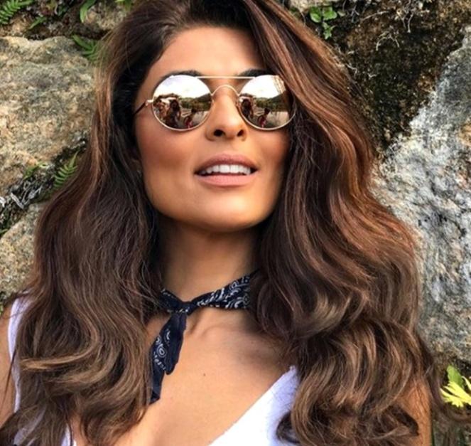 8044dfddf3285 óculos de sol febre em alta entre as celebridades go fashion verão 2018 02  juliana paes