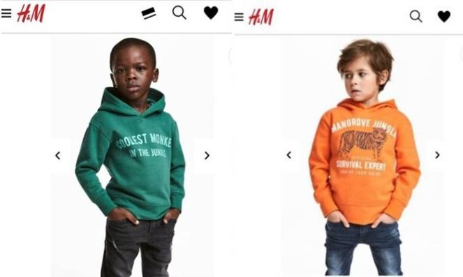 h&m acusada de racismo em campanha moda infantil 2018 blog loucuras de julia