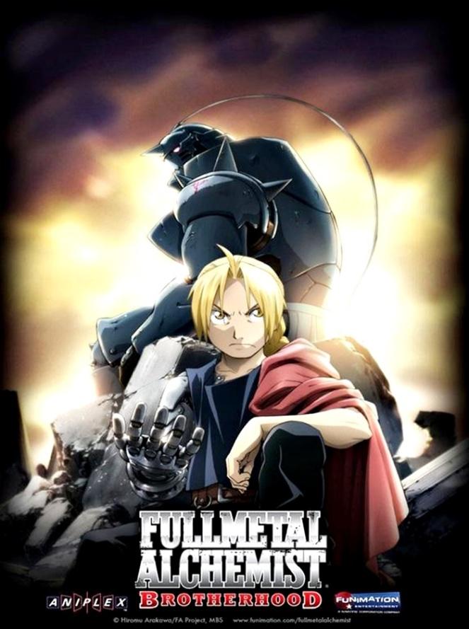 Fullmetal Alchemist Brotherhood 2009 brenda manea indicação anime série 2018 blog loucuras de julia 01