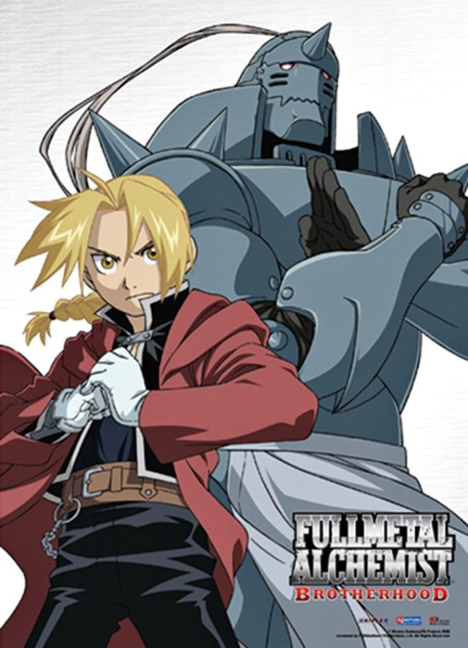 Fullmetal Alchemist Brotherhood 2009 brenda manea indicação anime série 2018 blog loucuras de julia 10