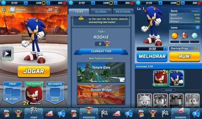 indicação de jogo para android ios Sonic Forces Speed Battle brenda manéa game run 2018 blog loucuras de julia 02