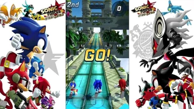 indicação de jogo para android ios Sonic Forces Speed Battle brenda manéa game run 2018 blog loucuras de julia 03
