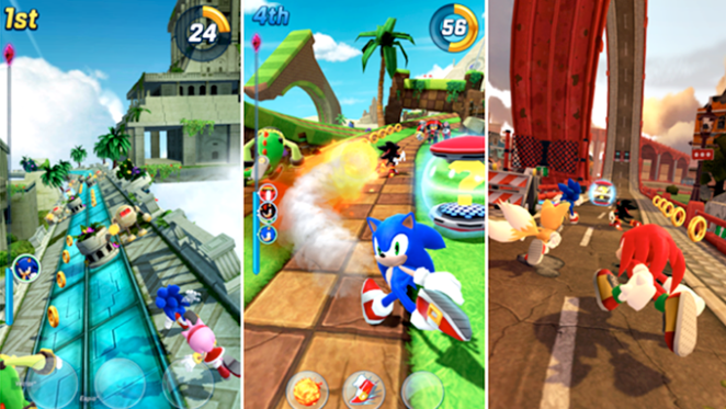 indicação de jogo para android ios Sonic Forces Speed Battle brenda manéa game run 2018 blog loucuras de julia 04